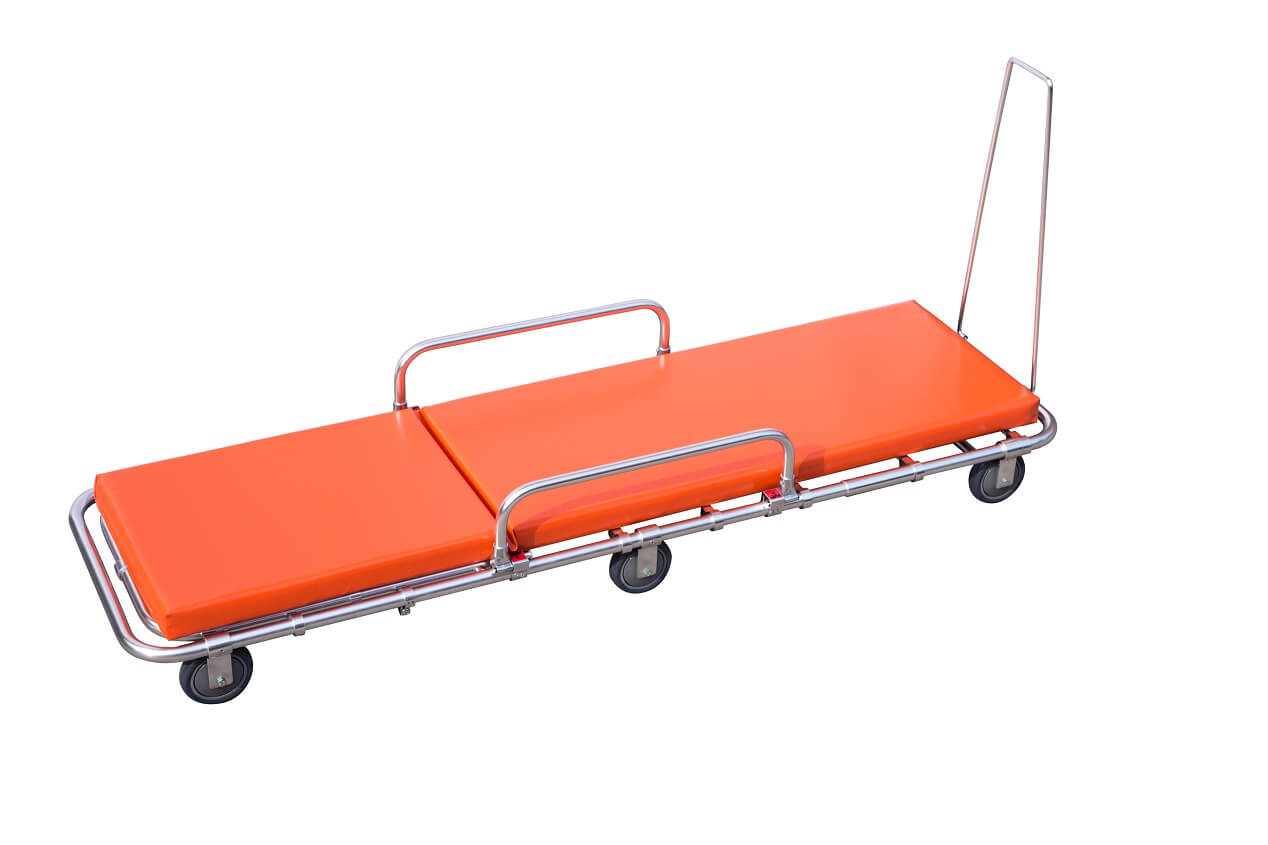 HS-D012 Low position ambulance stretcher for small ambulance car