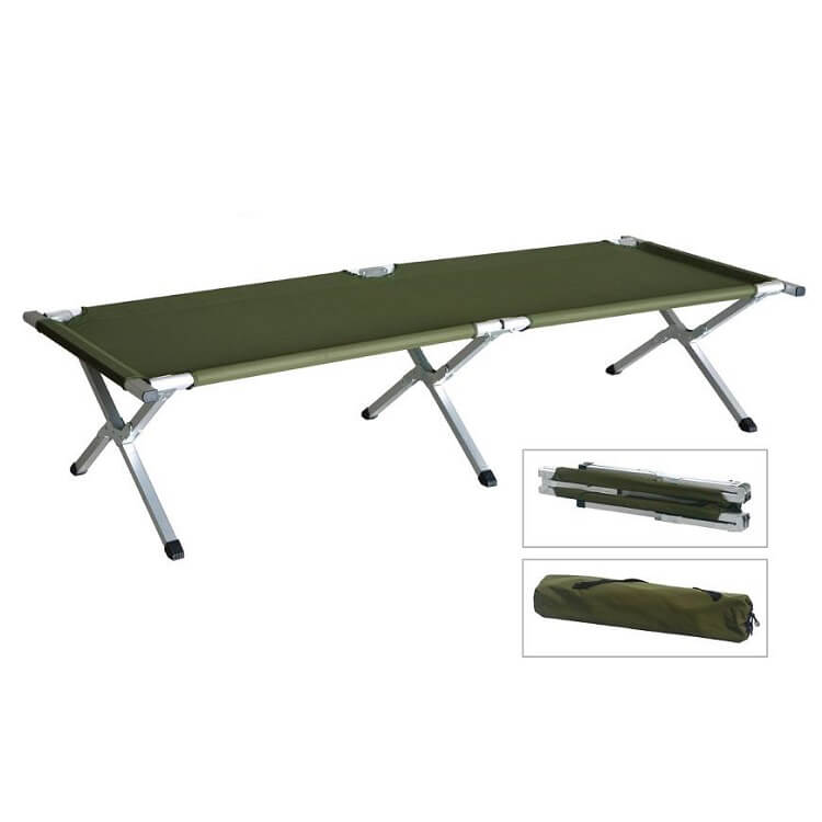 HS-B016 Outdoor portable folding camping bed